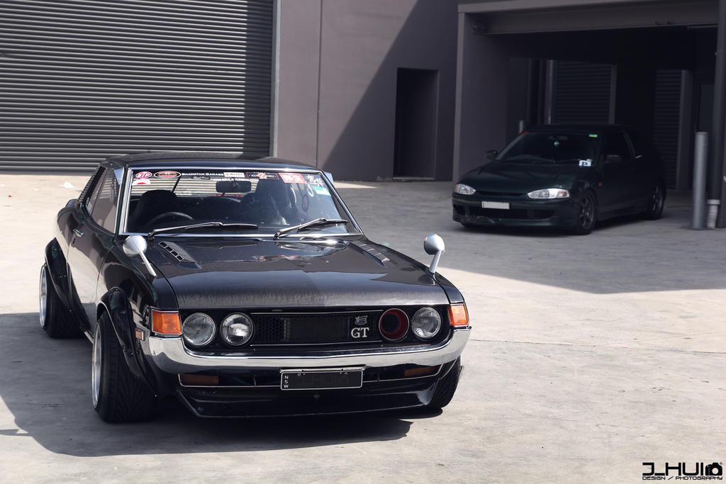 I Love How 1970 S Celicas Look These Two Are Sick Cars