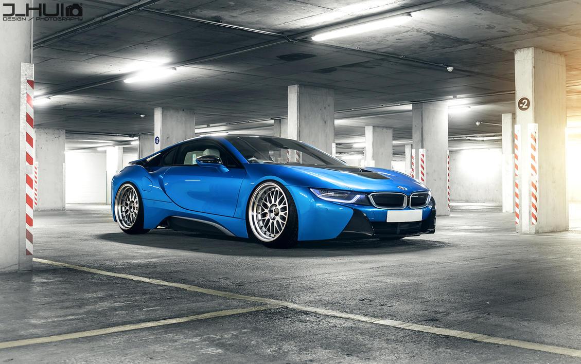 BMW i8 Stanced by J-HUI