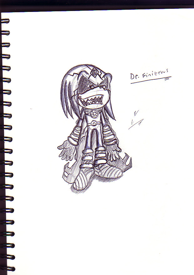 Dr.Finetevus Biro sketch by TheIcedWolf