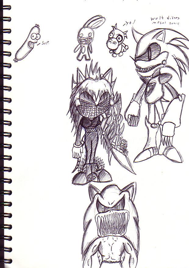 Random biro stuff by TheIcedWolf