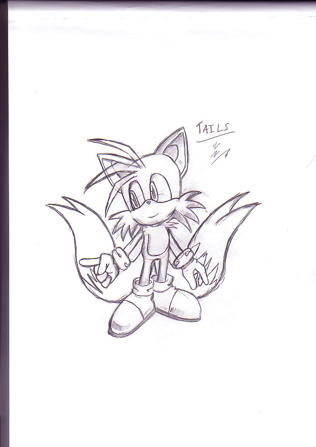 Tails teh Fox by TheIcedWolf