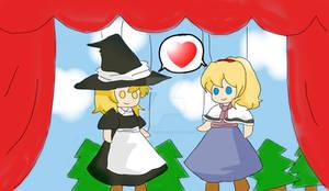 Alice x Marisa: puppets