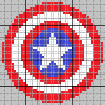 Captain America Knitting Pattern : Captain America Knitting/Cross Stitch Pattern by SummerCorn on DeviantArt