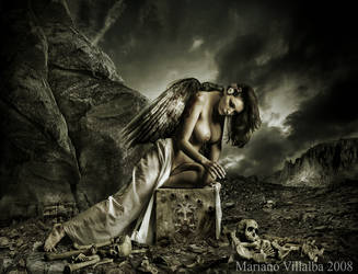 The angel of the deads by mariano7724