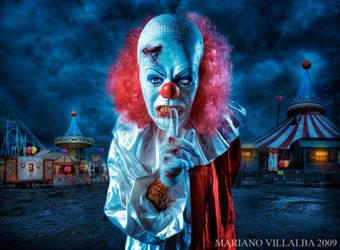 the midnight clown show