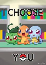 I choose you by vanbueno