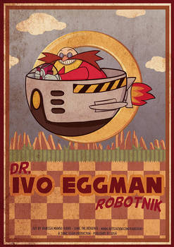 Eggman Poster