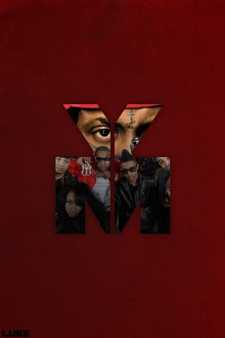 Young Money Ipod Wallp...
