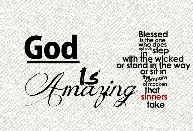 God Is Amazing by SyntheticsArt