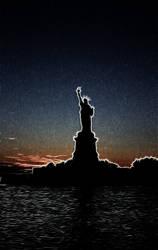 Statue of Liberty fractal by niteshift