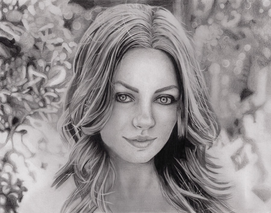 Mila Kunis by PauliDiaz