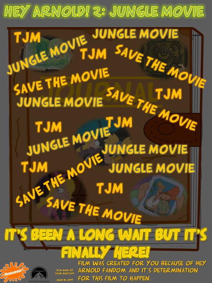 Movie Poster jungle book movie poster : Hey Arnold! 2 Jungle Movie poster by Blooface on DeviantArt