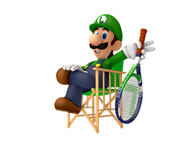 Courtside Luigi by SoloBouquet