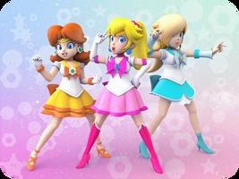 Pretty Guardian Sailor Princesses - TheBourgyman