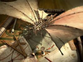 Da Vinci's butterfly by bgx1