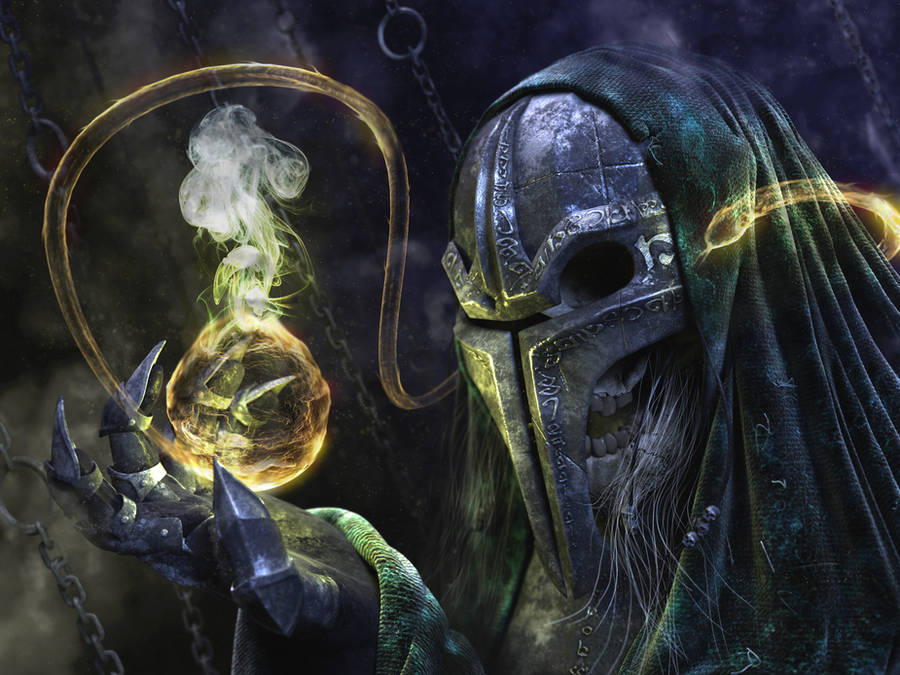 undead wizard by bgx1