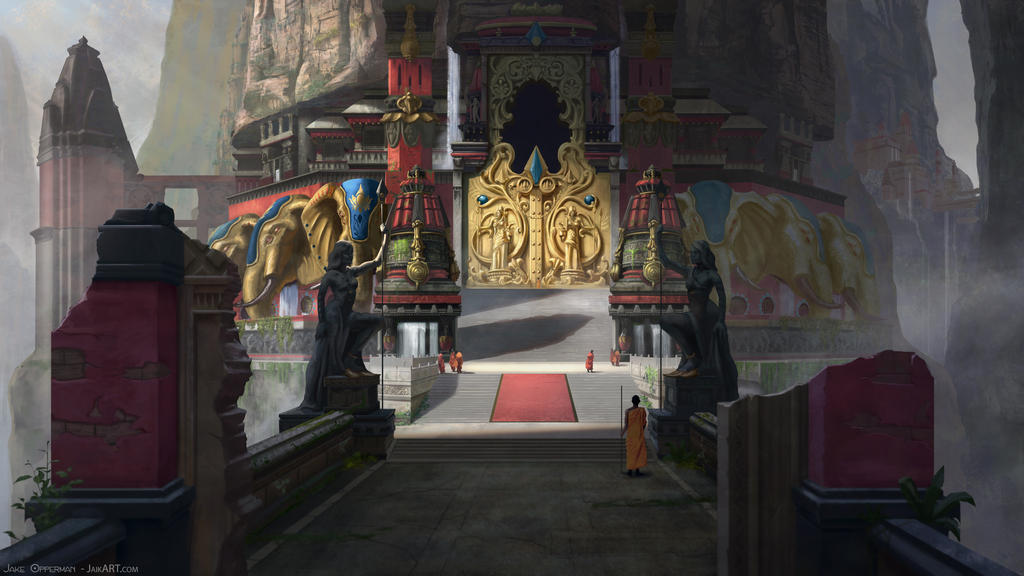 Hathi Temple 05: Temple Doors