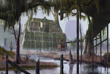 Legend of Zelda: Majoras Mask: Woodfall Temple