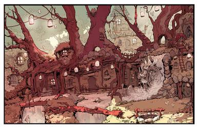 The village by Koizumi6456