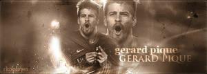 gerard pique gfx banner by rko-freaK