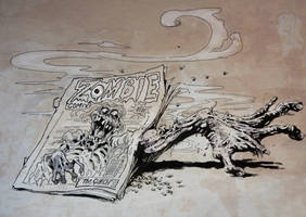 Beware Zombie comic by TheGurch