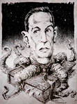 H P Lovecraft horror book freak