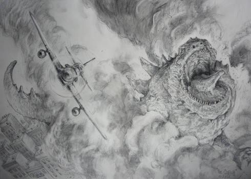GODZILLA 2012     by The Gurch