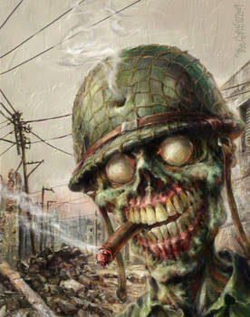 ZOMBIE Sarge War of the Dead