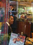 I bumped into Obama