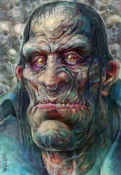 Gorax the Goat Eyed. by TheGurch