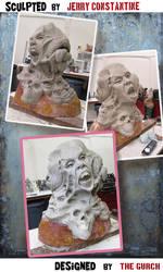 Horror MASK  - work in progress No1 by TheGurch