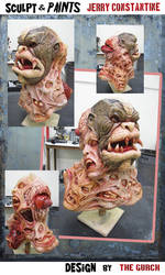 Horror MASK  - fully painted by TheGurch