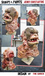 Horror MASK  - fully painted