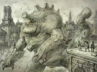 CITY MONSTER STORIES by TheGurch