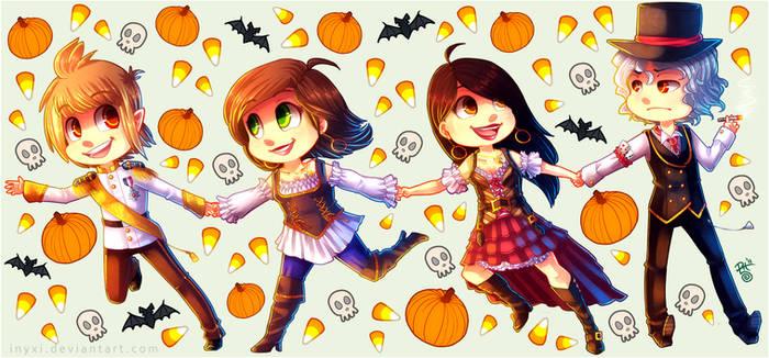 Halloween Runaways