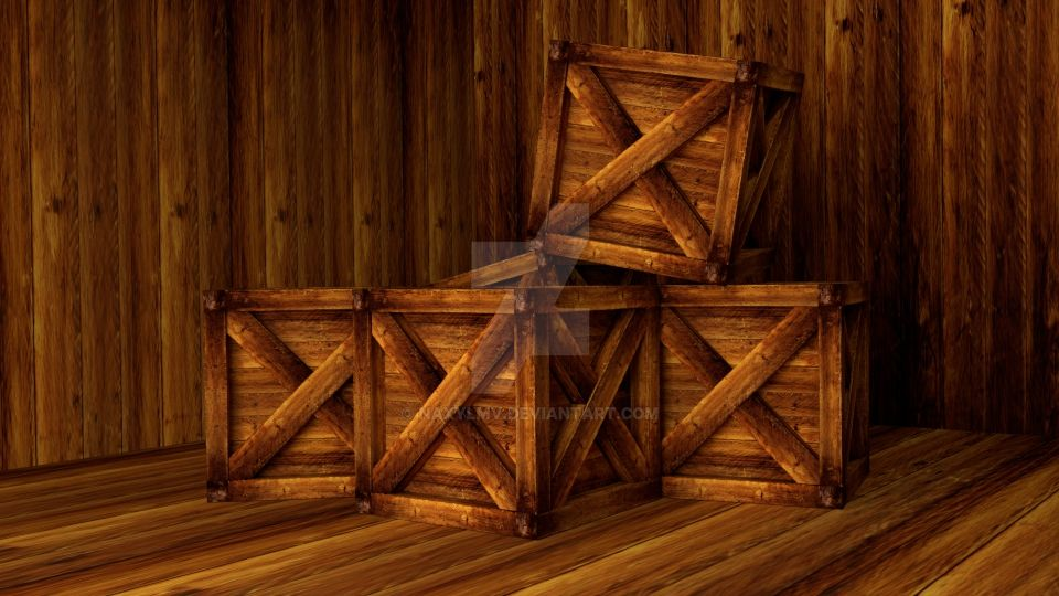 Wooden Crates by NexusVIII