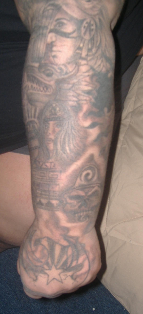AZTEC SLEEVE - sleeve tattoo