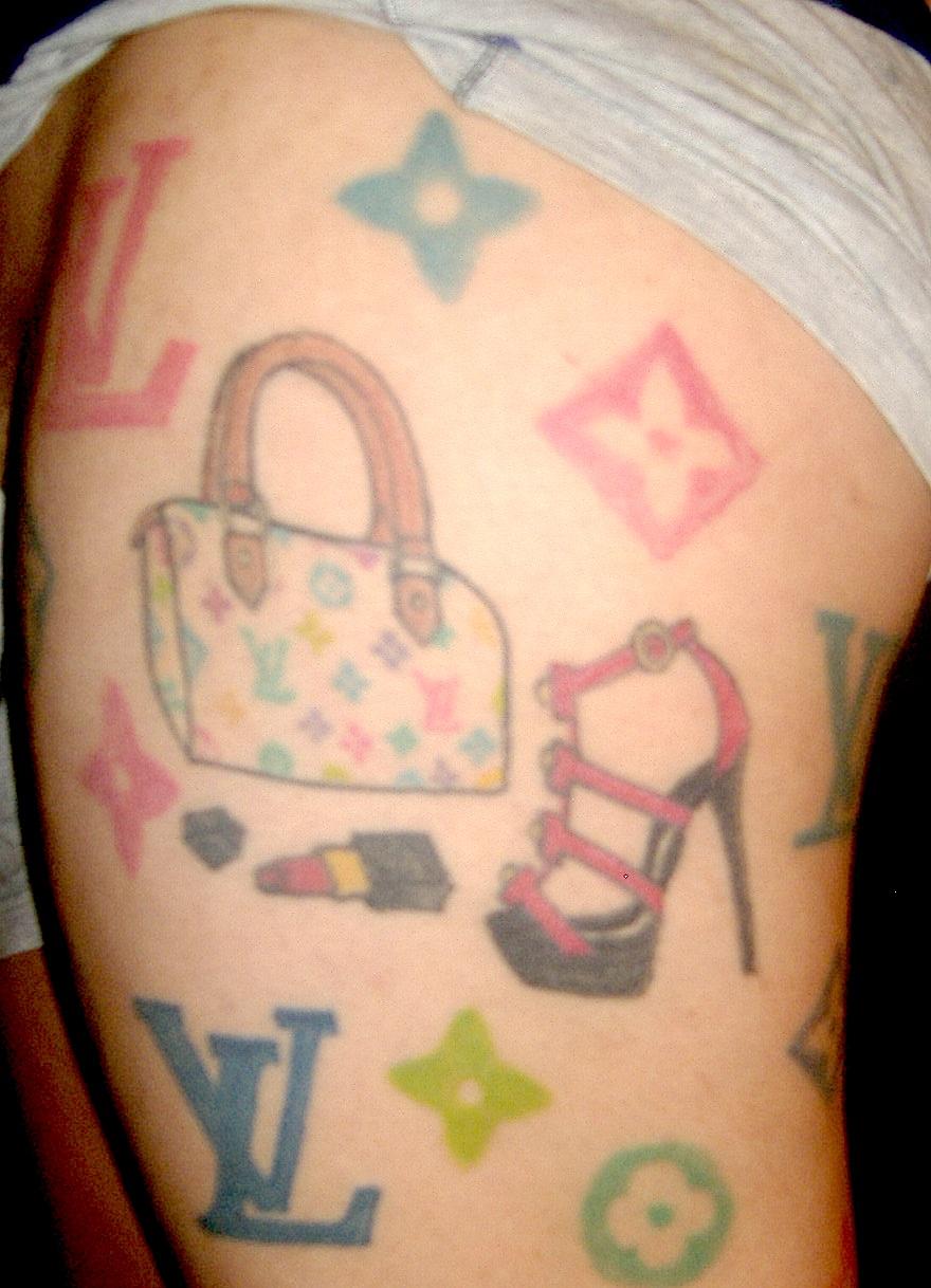 louis vuitton tattoo by tenserocz on deviantart. Black Bedroom Furniture Sets. Home Design Ideas