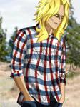 BNHA Flannel Series - Toshinori Yagi