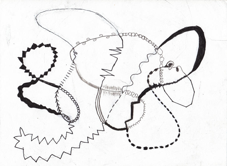 Line Art Practice : Line art practice by raverise on deviantart
