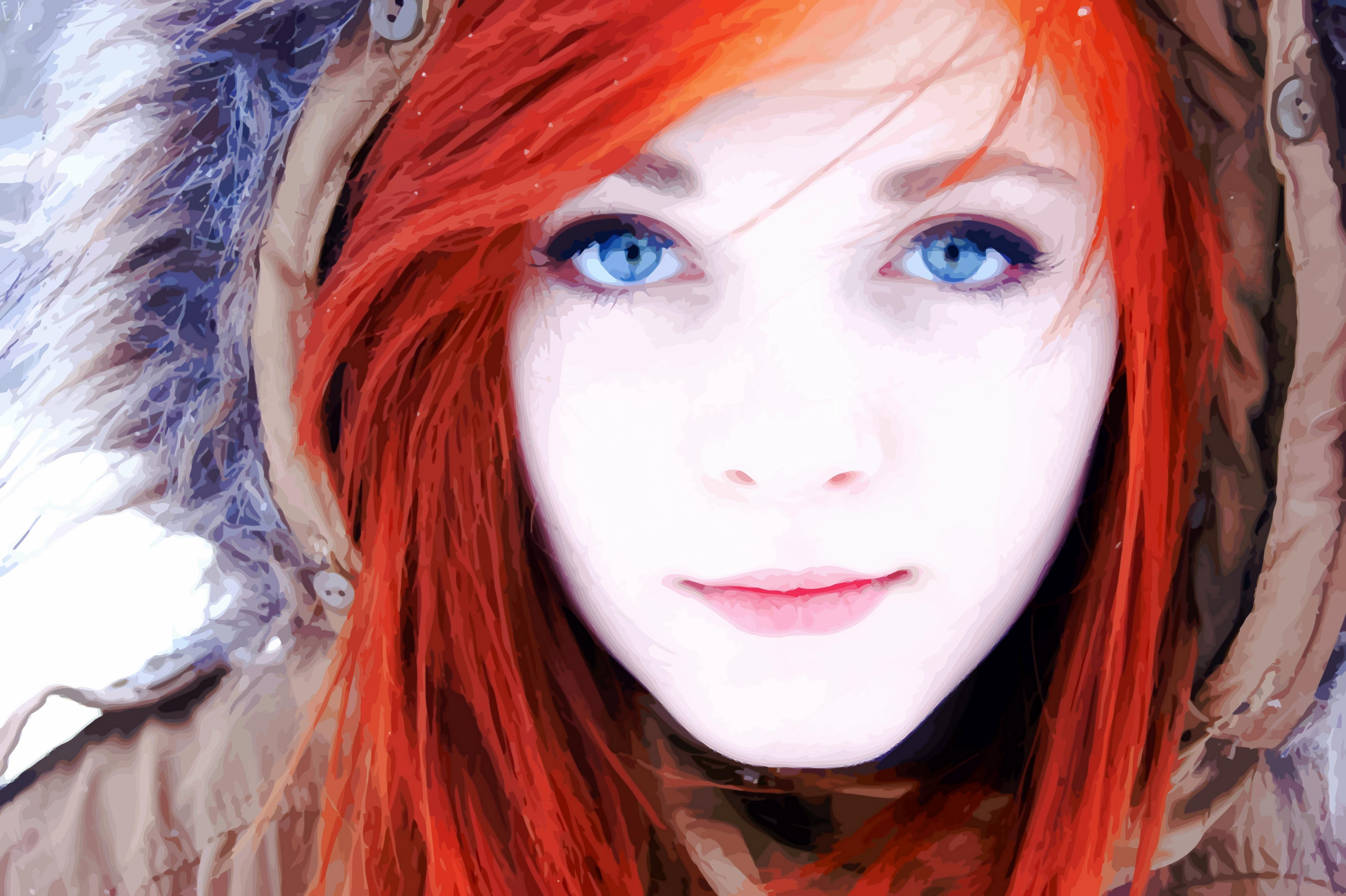 Рыжая девочка сосет член своему парню 24 фотография