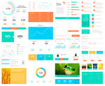 Huge Infogrpahic / UI Elements Kit