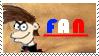 ZeFrenchM Stamp Fan by gabrielwoj