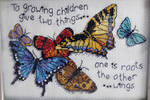 Give Two Things Butterflies
