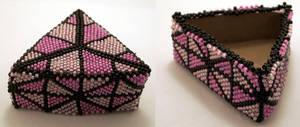 Pink Beaded Box