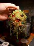 Ornament OrGr Dangle Weave