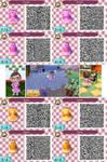 Princess Peach + Daisy - Brawl-esque ACNL QR by pinkythepink