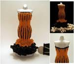 Halloween Mermaid Skirt Bead Dress