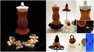 Miniature Beaded Halloween Collection
