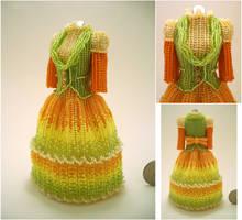 Custom - Eumelia Eriades Bead Dress by pinkythepink